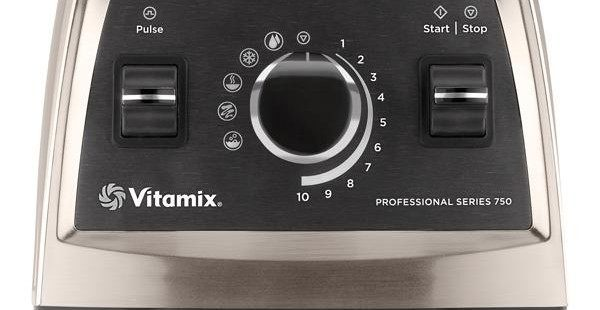 Vitamix Pro 750 Bedienungsfeld