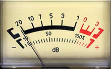 Dezibel-Meter - Mixer zu laut?