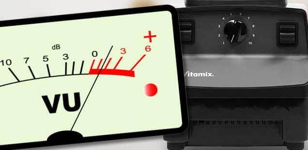 Mixer Lautstärke messen