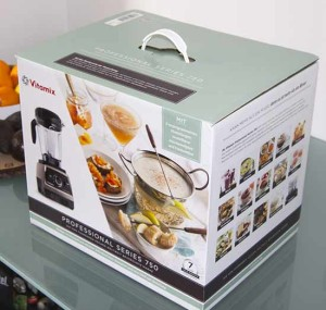 Vitamix Pro 750 Verpackung