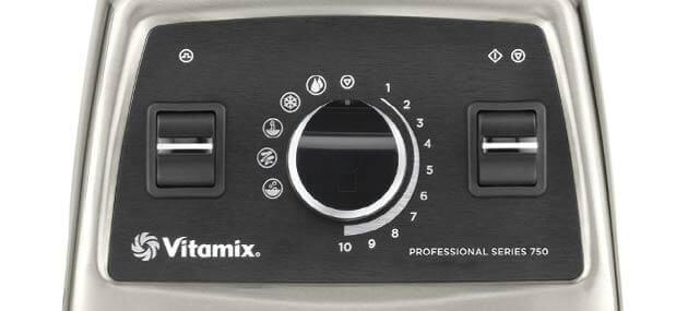 Vitamix Pro 750 Bedienelement