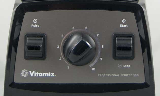 Bedienung des Vitamix Pro 300 im Test