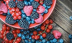 Beeren für Anti-Aging