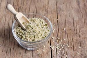 Hanf-Samen für grüne Smoothies