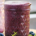 Superfood Smoothie mit Blaubeere und Maqui