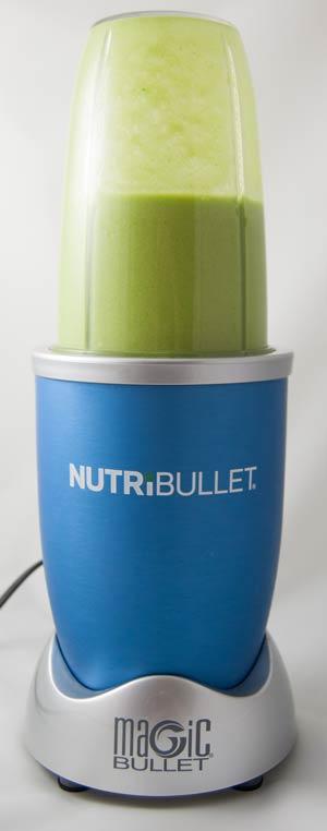 Grüner Smoothie im Nutribullet