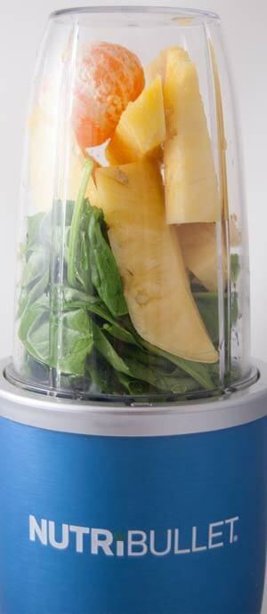 Obst im Nutribullet