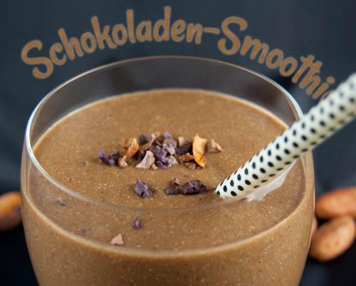 Schoko-Smoothie mit Hafer und Hanf