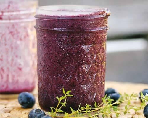 Superfood Smoothie mit Maqui und Blaubeere