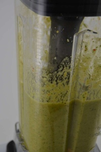 Grüner Smoothie im VE Mix
