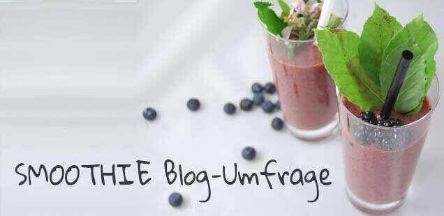 Blog-Umfrage zu Smoothies