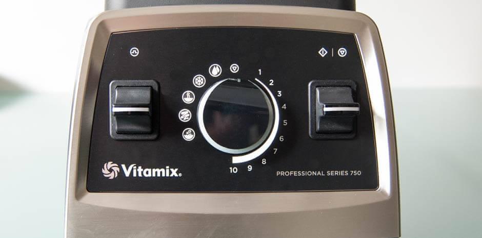 Vitamix pro 750 Sockel und Bedienung
