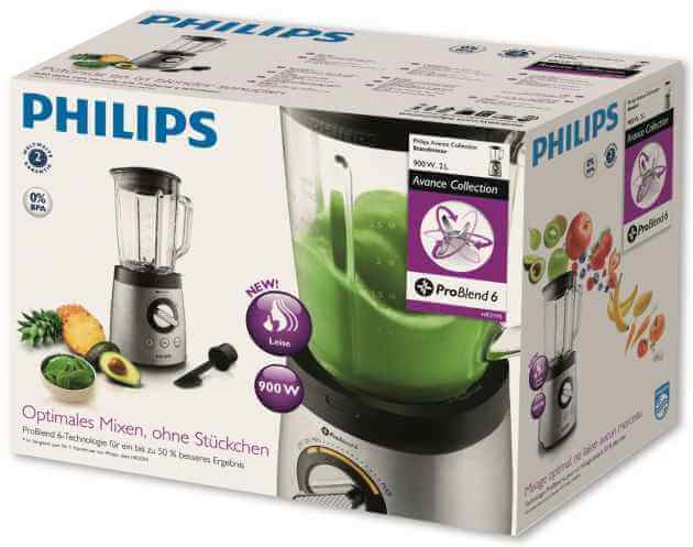 Philips HR 2195/08 Originalverpackung