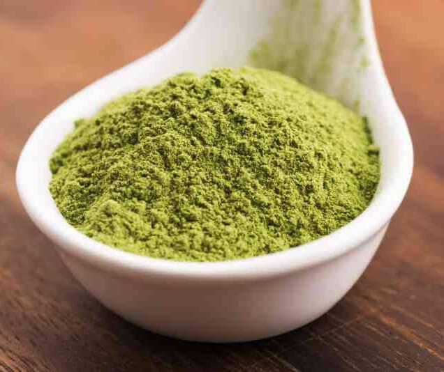Gerstengraspulver für grüne Smoothies