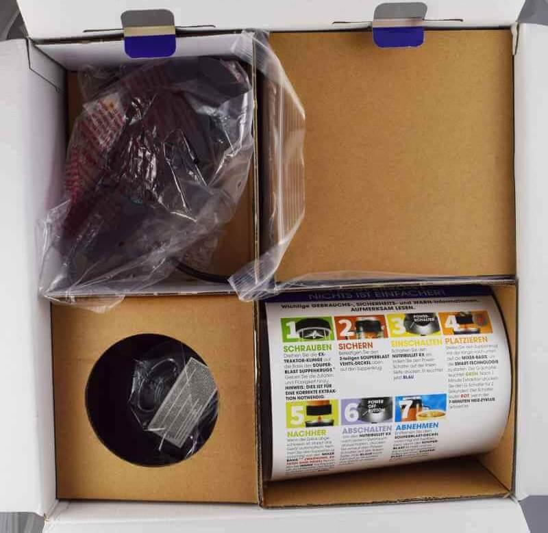 NutriBullet RX Verpackung