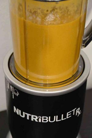 Warme Suppe im NutriBullet RX