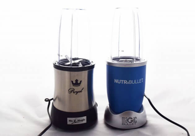 Vergleich NutriBullet mit Mr. Magic Nutrition Mixer Royal
