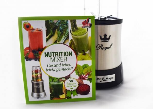 Mr. Magic Nutrition Mixer Royal Rezeptbuch