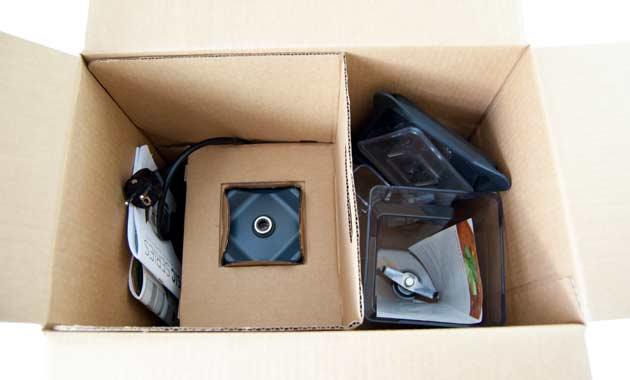 Blendtec Classic 575 Verpackung