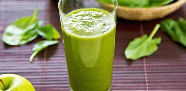 Grüner Spinat Smoothie