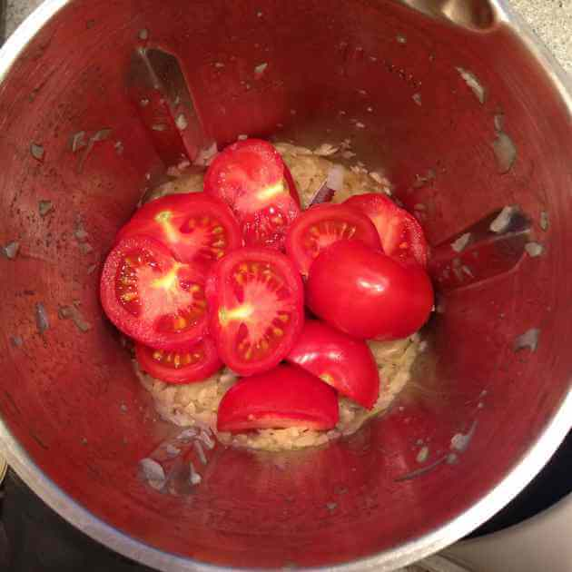 Tomatensuppe im ThermoCook
