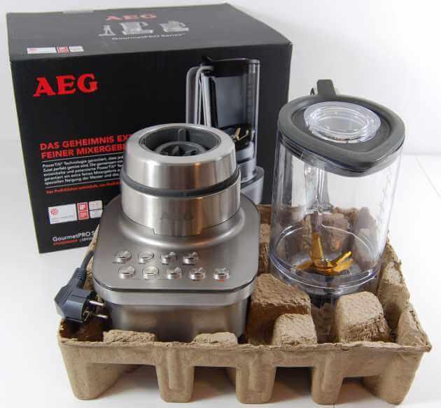 AEG SB9300 GourmetPro Standmixer Lieferumfang