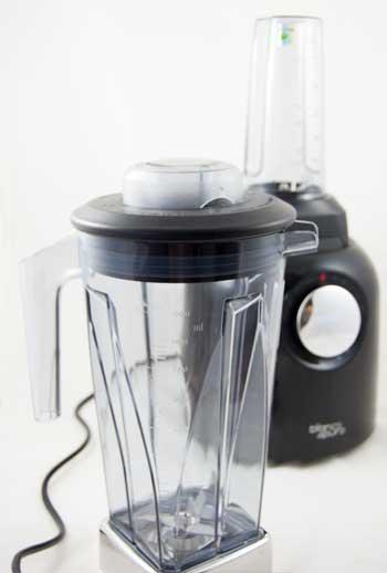 Mixer Bianco puro S mit Premium Becher