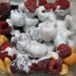 Bianco puro S Himbeereis mit Kokosmilch
