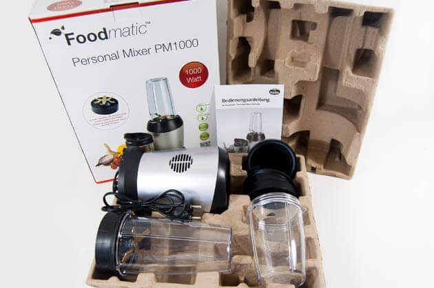 Foodmatic Personal Mixer PM1000 Lieferumfang