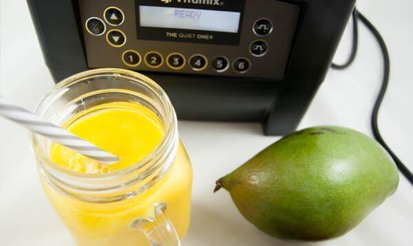Fertiges Sorbet mit dem Vitamix Quiet One