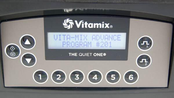 Vitamix The Quiet One Automatikprogramme