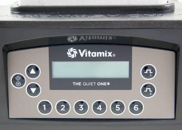Vitamix The Quiet One Bedienfeld