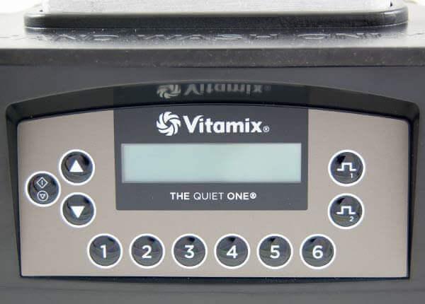 Vitamix The Quiet One Bedienfeld