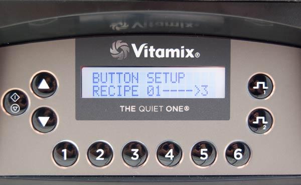 The Quiet One von Vitamix mit manueller Programmierung