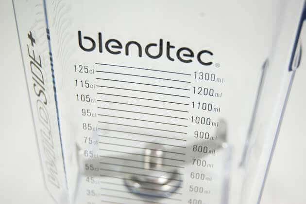 Blendtec Pro 800 Messskala