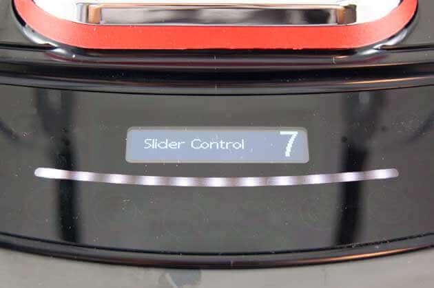 Blendtec Pro 800 manuelle Geschwindigkeitseinstellung