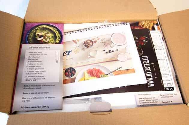 Oster Versa Mixer Originalverpackung