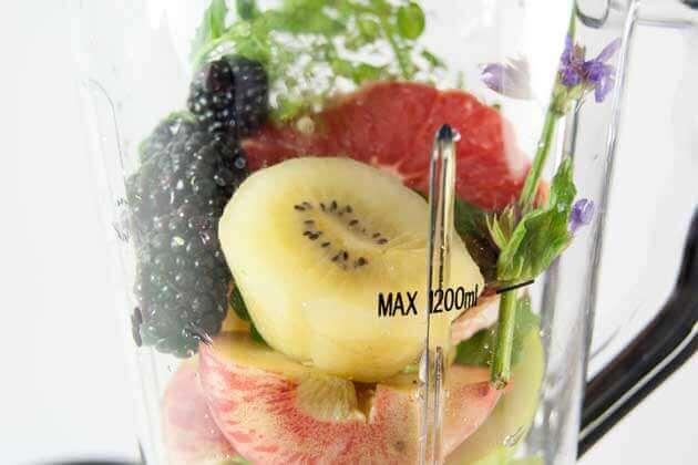 GOURMETmaxx Nutrition Mixbecher maximale Füllmenge