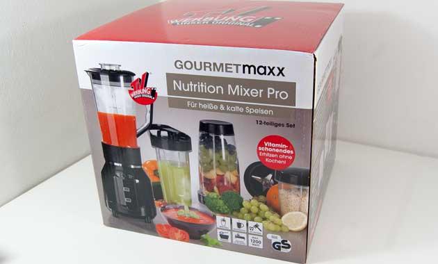 GOURMETmaxx Nutrition Mixer Originalverpackung