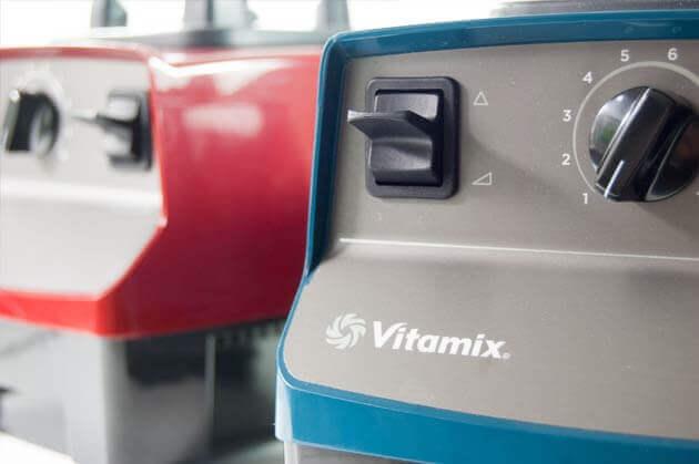Vitamix Creations in rot und petrol