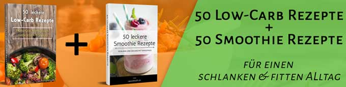 Low Carb Rezeptbuch mit Smoothies