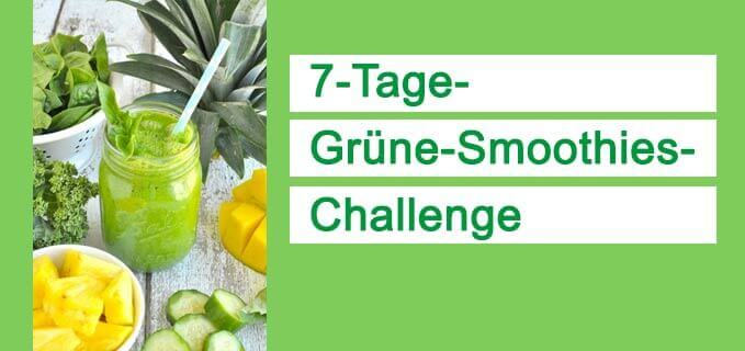 Grüne Smoothies Challenge Februar 2017