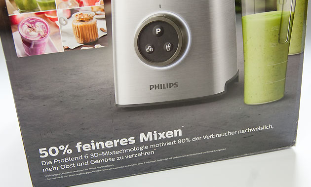 Philips ProBlend 6 3D-Technologie