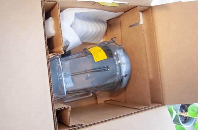 Lieferumfang und Verpackung vom Vitamix E310